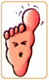 What to do for throbbing feet
